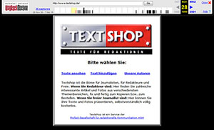 Screenshot Textshop 1999